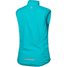 Endura Pakagilet Vest Dames, pacific blue